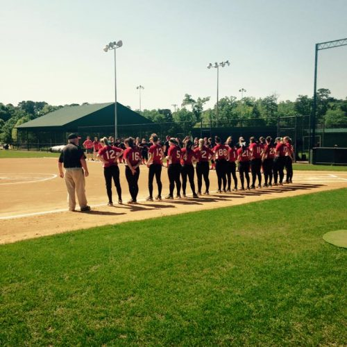 Judson College's Softball Team