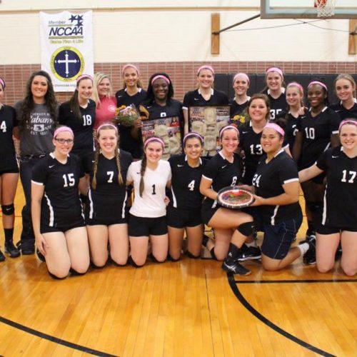 Judson College Volleyball team 2016