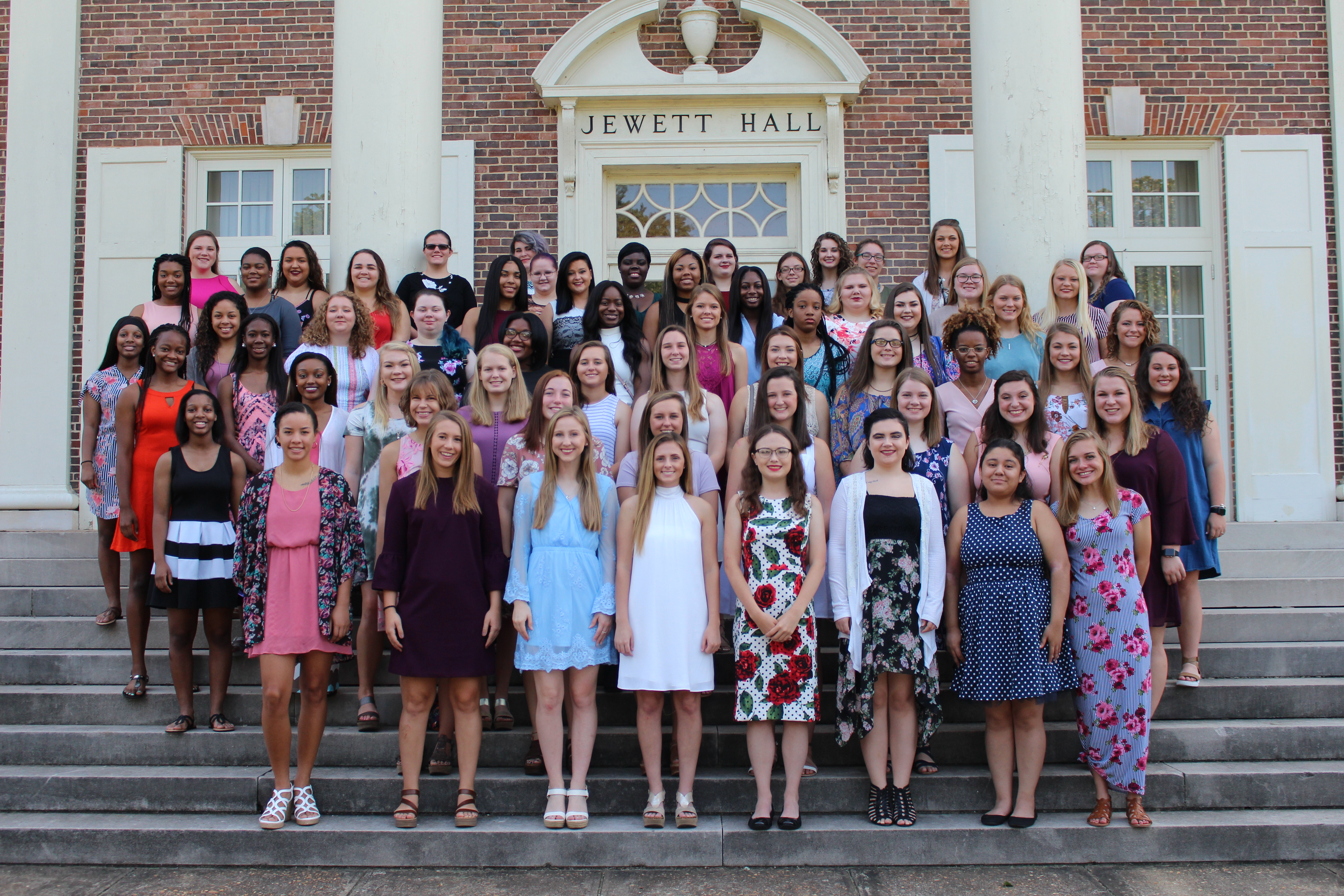 The Class of 2022 at Rose Sunday. Photo by Sarah Fowler